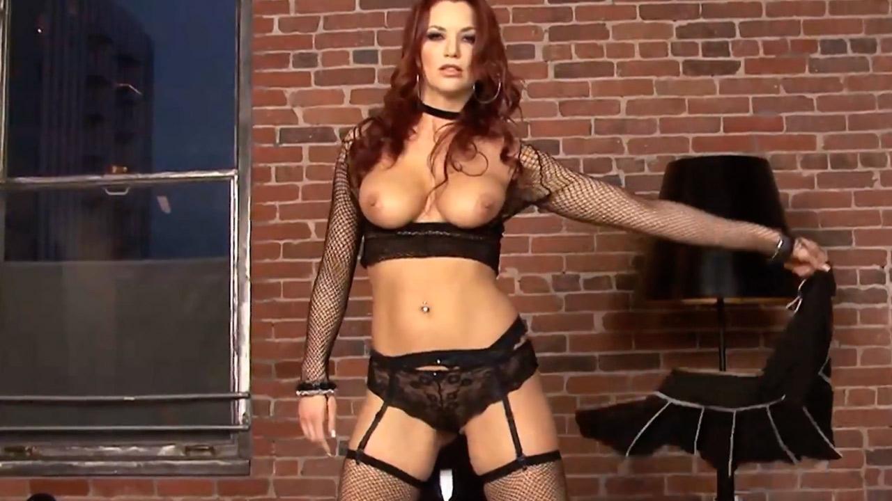 Jayden Cole stuffs her panties in her pussy